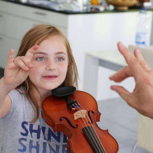 Violinunterricht für Kinder